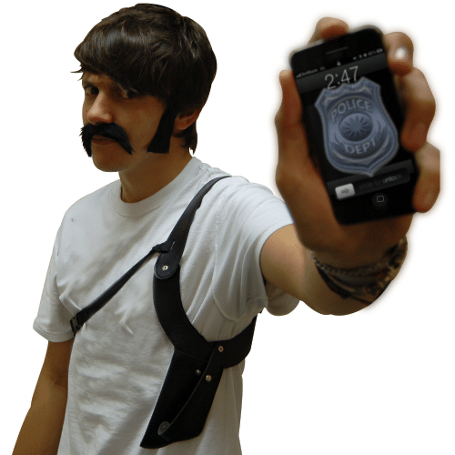 Secret Agent Phone Holder