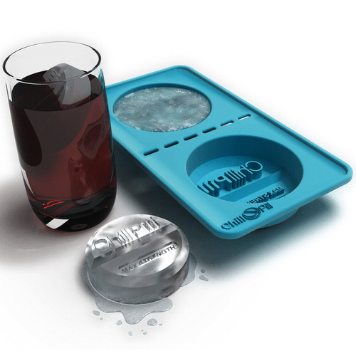 Chill Pill Ice Tray Giant Ice Cube Maker