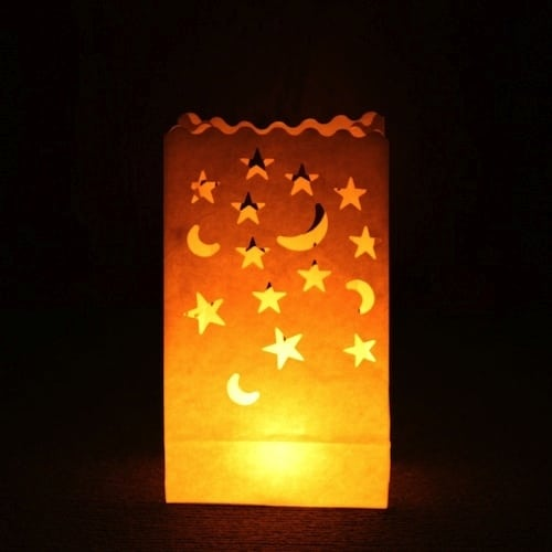 Candle Lantern Bags – Stars and Moons