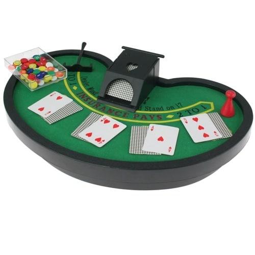 Mini Blackjack Table