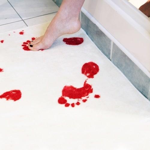 Blood Bathmat