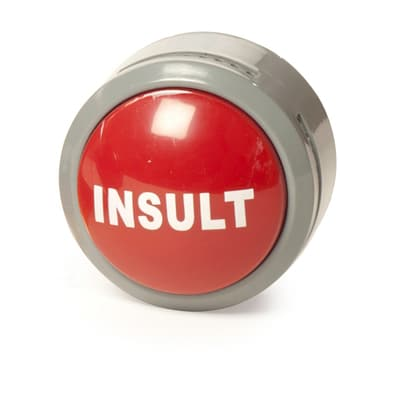 Insult Button