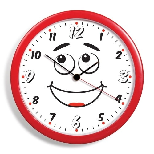 Clock With Moving Eyes