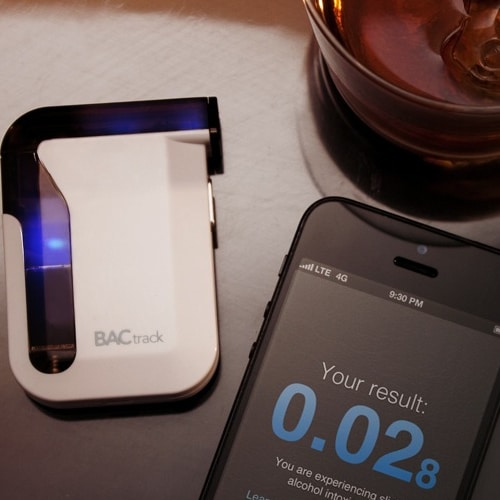 Mobile Breathalyser for iPhone