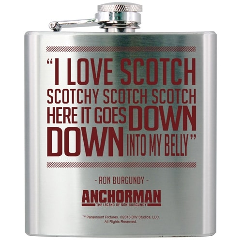 Anchorman Hip Flask