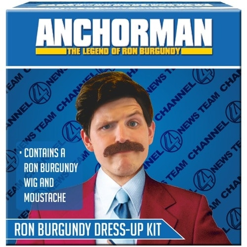 Anchorman Ron Burgundy Dress Up Kit