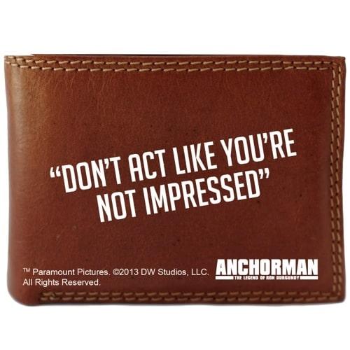 Anchorman Wallet and Moustache Set