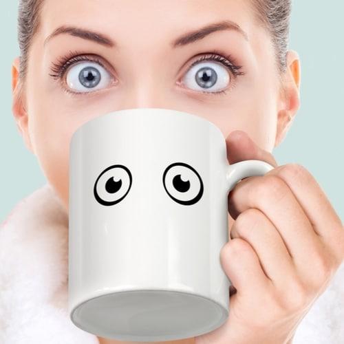Wake Up! Heat-sensitive Mug