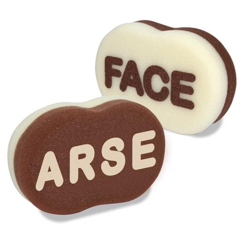 Arse Face Sponge
