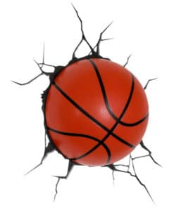 Basketball 3D Deco Light