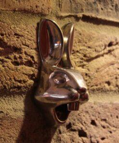 Bottle Bunny – Chrome Finish