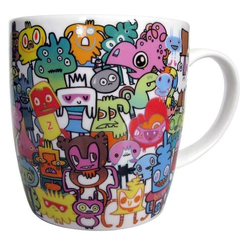 Burgerplex China Doodle Mug