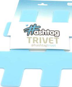 Hashtag Coasters – Blue