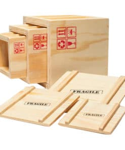 Inbox Desk Crates – Set of 3