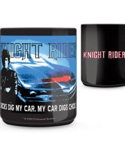 Knight Rider Chicks Dig my Car Mug