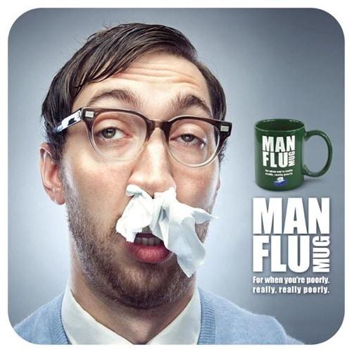 Man Flu Mug Yuppie Gadgets