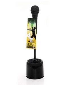 Microphone Toilet Brush