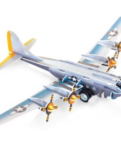 Slot Together Aircraft Model WW2 Bomber