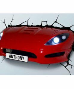 Sports Car 3D Deco Light