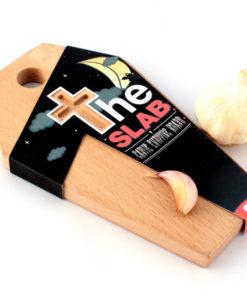 The Slab garlic board