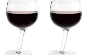 Vinology Tipsy Wine Glasses