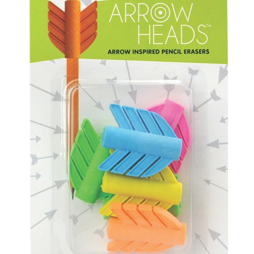 Arrow Heads Pencil Erasers