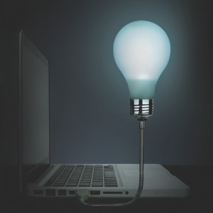 Bright Idea USB Light Bulb