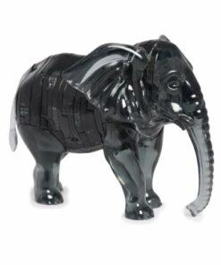 Crystal Puzzle Elephant