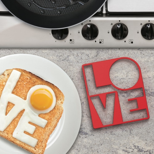Fry Love You Egg Mould