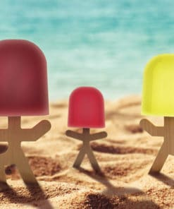 Lollypop Men Ice Lolly Mould
