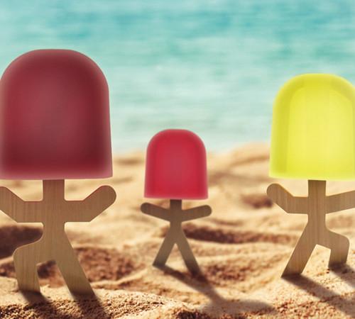 lollypop men ice lolly mould yuppie gadgets. Black Bedroom Furniture Sets. Home Design Ideas