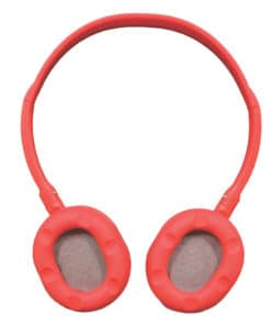 Mini Neon Beats Headphones Red