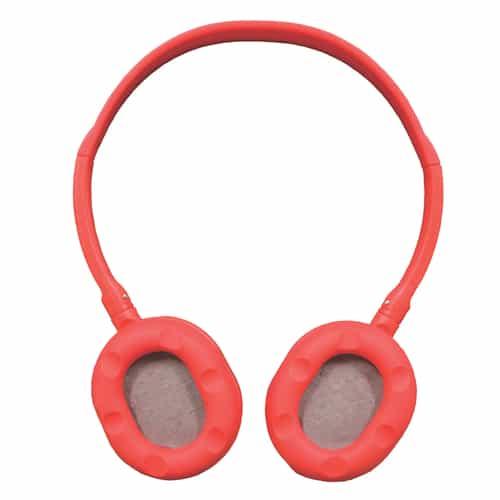 Mini Neon Soundz Headphones – Red