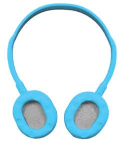 Mini Neon Soundz Headphones - Blue