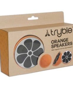 Our Orange Speaker looks good enough to eat!