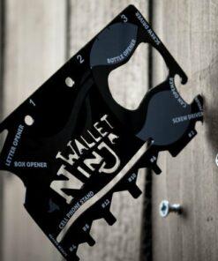 The Wallet Ninja 18-in-1 Multi-Tool