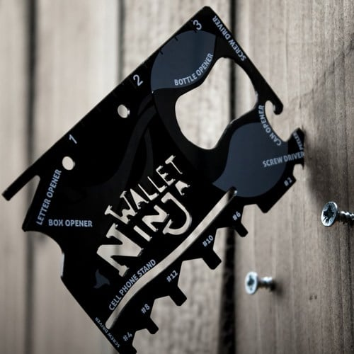 The Wallet Ninja 18-in-1 Multi-Tool