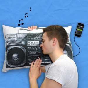 Boombox iMusic Pillow