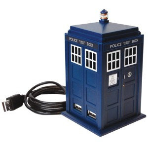 Doctor Who Tardis USB 4 Port Hub