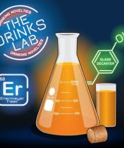 Drinks Lab Erlenmeyer Flask