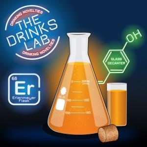 Erlenmeyer Flask Decanter