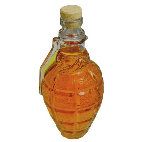 Drinks Lab Glass Grenade Decanter