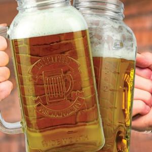 Jam Jarred Beer Stein - 2ltr