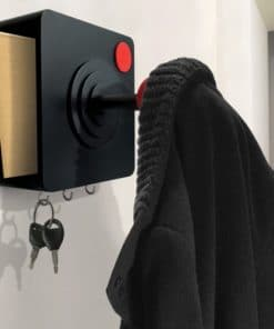 Joystick Coat Hook and Storage