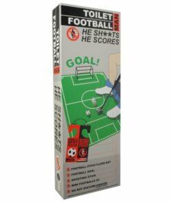 Man Toilet Football