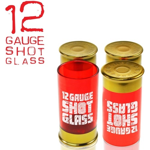 12 Gauge Shot Glass - Set of 4