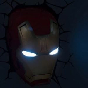 Iron Man 3 Mask 3D Deco Light