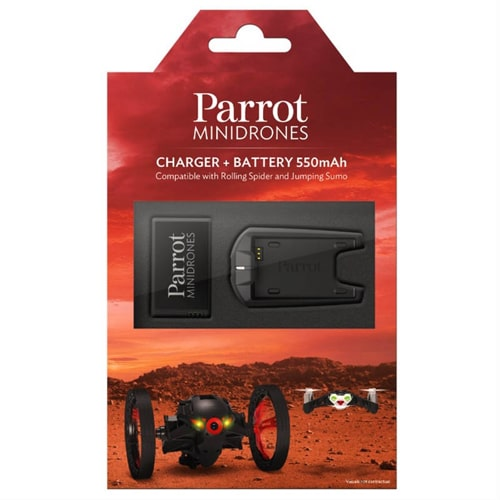 Minidrones Battery Charger for Jumping Sumo a…