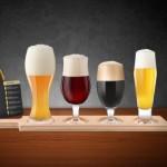 4 Piece Beer Tasting Set