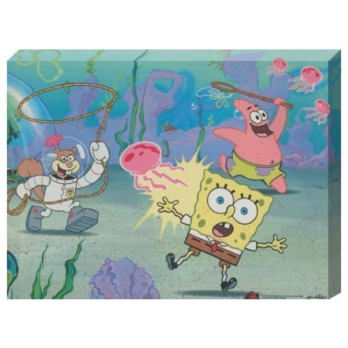 SpongeBob Canvas Wall Art